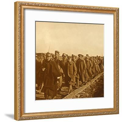 Prisoners of war, c1914-c1918-Unknown-Framed Photographic Print
