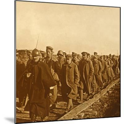 Prisoners of war, c1914-c1918-Unknown-Mounted Photographic Print
