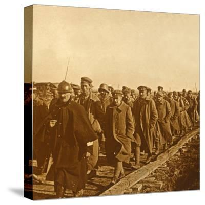 Prisoners of war, c1914-c1918-Unknown-Stretched Canvas Print