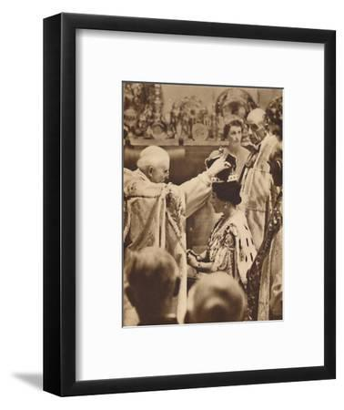'The Queen is Crowned', May 12 1937-Unknown-Framed Photographic Print