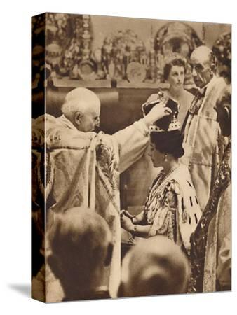'The Queen is Crowned', May 12 1937-Unknown-Stretched Canvas Print