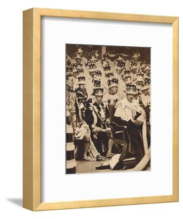 'Homage', May 12 1937-Unknown-Framed Photographic Print