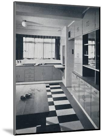 R. W. Symonds and Partner, L. & A.R.I.B.A. - Kitchen-Unknown-Mounted Photographic Print