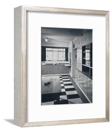R. W. Symonds and Partner, L. & A.R.I.B.A. - Kitchen-Unknown-Framed Photographic Print