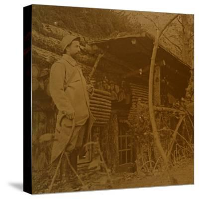 Bois d'Haumont, northern France, c1914-c1918-Unknown-Stretched Canvas Print