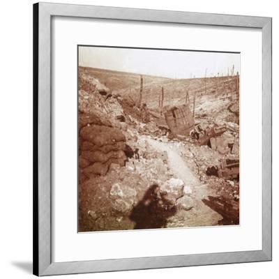 Bezonvaux, Verdun, northern France, c1914-c1918-Unknown-Framed Photographic Print