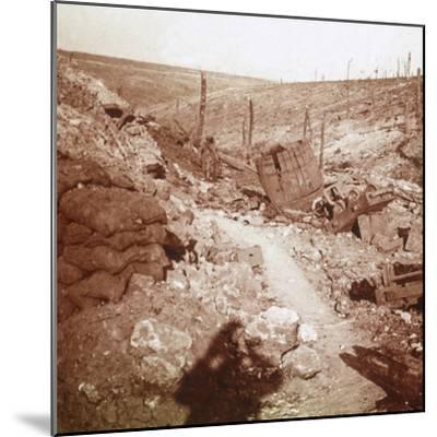 Bezonvaux, Verdun, northern France, c1914-c1918-Unknown-Mounted Photographic Print