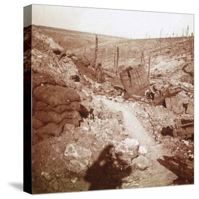 Bezonvaux, Verdun, northern France, c1914-c1918-Unknown-Stretched Canvas Print