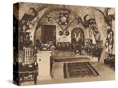 The Crypt, Glamis Castle', c1933 (1937)-Unknown-Stretched Canvas Print
