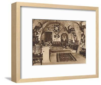 The Crypt, Glamis Castle', c1933 (1937)-Unknown-Framed Photographic Print