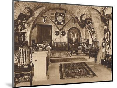The Crypt, Glamis Castle', c1933 (1937)-Unknown-Mounted Photographic Print