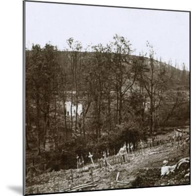 Tavannes Fort, Verdun, northern France, c1914-c1918-Unknown-Mounted Photographic Print