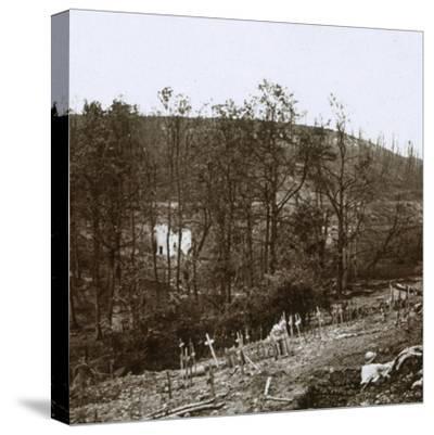 Tavannes Fort, Verdun, northern France, c1914-c1918-Unknown-Stretched Canvas Print