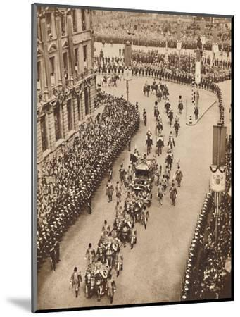 'And So Into Whitehall', May 121937-Unknown-Mounted Photographic Print