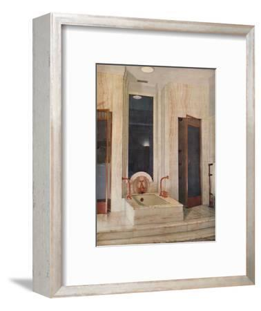 'Bathroom by F. D. Blake, W. N. Froy & Sons', 1939-Unknown-Framed Photographic Print