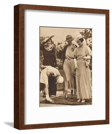 '-And He Forgot His Hat!', c1930s, (1937)-Unknown-Framed Photographic Print