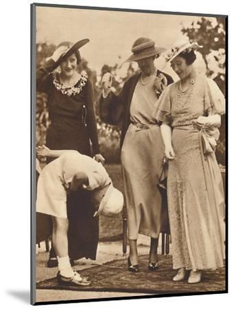 '-And He Forgot His Hat!', c1930s, (1937)-Unknown-Mounted Photographic Print
