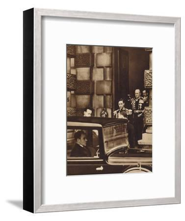 'The New Reign Dawns', 1936 (1937)-Unknown-Framed Photographic Print