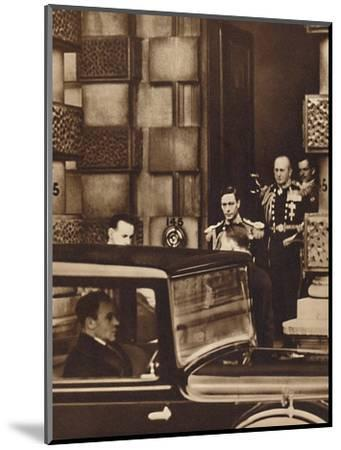 'The New Reign Dawns', 1936 (1937)-Unknown-Mounted Photographic Print