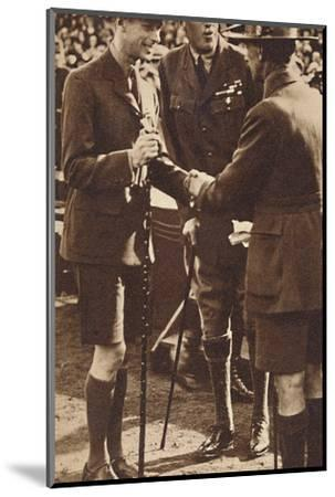'Scout's Handshake' - Rally at Adelaide, 1927 (1937)-Unknown-Mounted Photographic Print