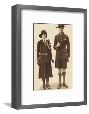 'Off to a Rally of Scouts and Guides', c1931 (1937)-Unknown-Framed Photographic Print