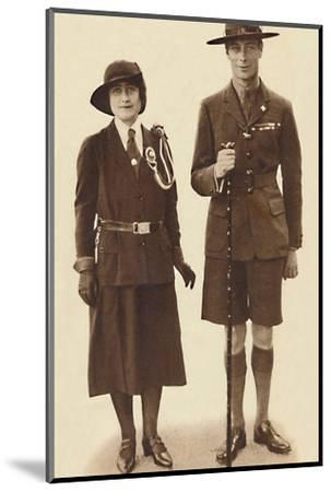 'Off to a Rally of Scouts and Guides', c1931 (1937)-Unknown-Mounted Photographic Print