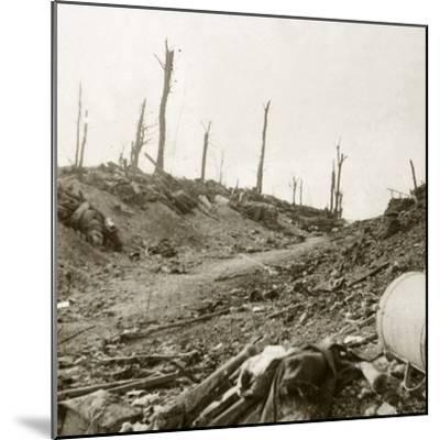 Before Chaulnes, Somme, northern France, c1914-c1918-Unknown-Mounted Photographic Print