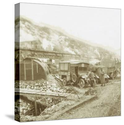 Policeman's-Hat-Hill, Curlu, Somme, northern France, c1914-c1918-Unknown-Stretched Canvas Print