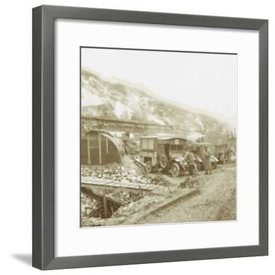 Policeman's-Hat-Hill, Curlu, Somme, northern France, c1914-c1918-Unknown-Framed Photographic Print