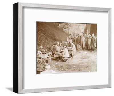 Quarry, Balleroy, northern France, c1914-c1918-Unknown-Framed Photographic Print