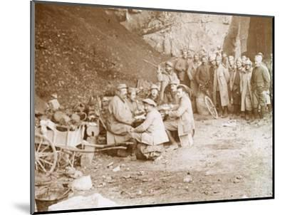 Quarry, Balleroy, northern France, c1914-c1918-Unknown-Mounted Photographic Print