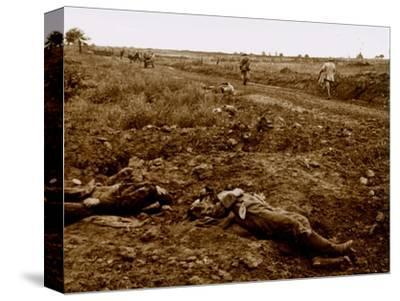 Bodies of German soldiers, c1914-c1918-Unknown-Stretched Canvas Print