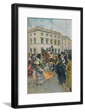 'The Entry of Ferdinand into Madrid', 23 March 1808, (1896)-Unknown-Framed Giclee Print