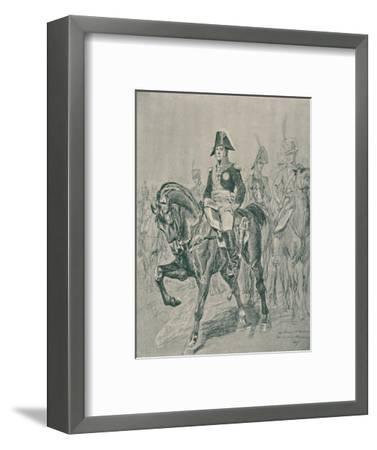 'Marshal Michel Ney - Duke of Elchingen, Prince of the Moskowa', c1800, (1896)-Unknown-Framed Giclee Print