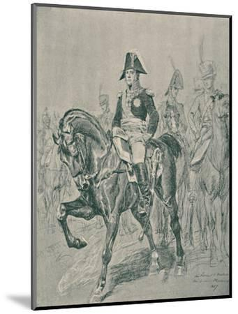 'Marshal Michel Ney - Duke of Elchingen, Prince of the Moskowa', c1800, (1896)-Unknown-Mounted Giclee Print