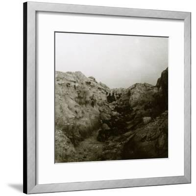After the attack, Rozieres, France, c1914-c1918-Unknown-Framed Photographic Print