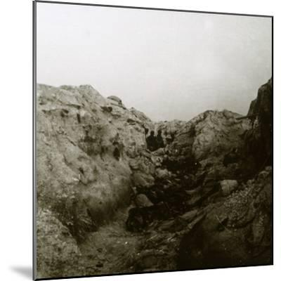 After the attack, Rozieres, France, c1914-c1918-Unknown-Mounted Photographic Print