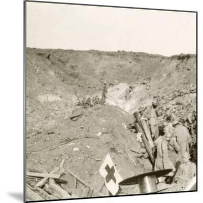 Front line, Sailly-Saillisel, Northern France, c1914-c1918-Unknown-Mounted Photographic Print