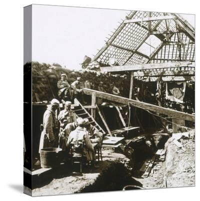 Soldiers, c1914-c1918-Unknown-Stretched Canvas Print