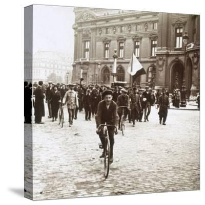 Mobilisation of soldiers from Alsace-Lorraine, c1914-c1918-Unknown-Stretched Canvas Print