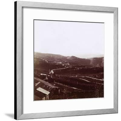 Karst Plateau, c1914-c1918-Unknown-Framed Photographic Print