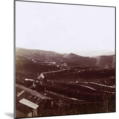 Karst Plateau, c1914-c1918-Unknown-Mounted Photographic Print