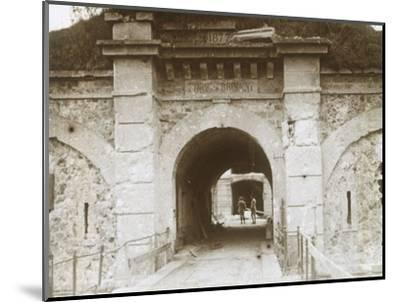 Fort de Brimont, Reims, northern France, c1914-c1918-Unknown-Mounted Photographic Print