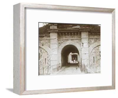 Fort de Brimont, Reims, northern France, c1914-c1918-Unknown-Framed Photographic Print
