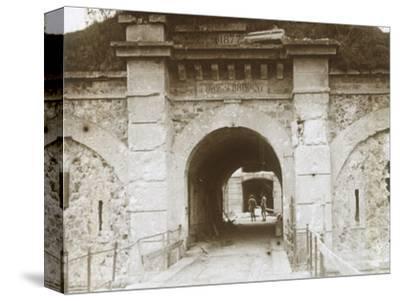 Fort de Brimont, Reims, northern France, c1914-c1918-Unknown-Stretched Canvas Print