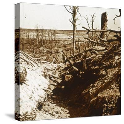 Plateau de Craonne, northern France, c1914-c1918-Unknown-Stretched Canvas Print