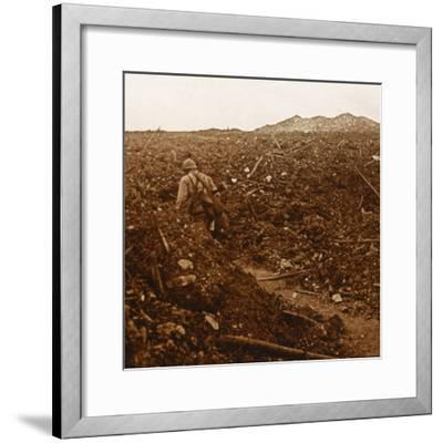 Craonne, northern France, c1914-c1918-Unknown-Framed Photographic Print
