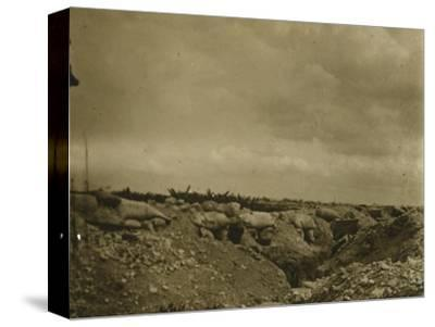 Front line, Jonchery, northern France, c1914-c1918-Unknown-Stretched Canvas Print