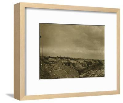 Front line, Jonchery, northern France, c1914-c1918-Unknown-Framed Photographic Print