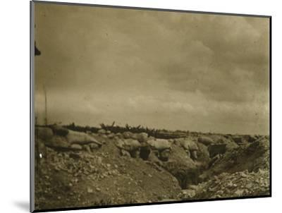 Front line, Jonchery, northern France, c1914-c1918-Unknown-Mounted Photographic Print